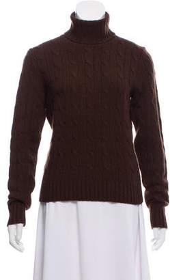 Ralph Lauren Cable Knit Turtleneck Sweater