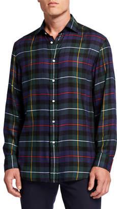 Ralph Lauren Men's Tartan Plaid Sport Shirt