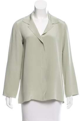 Peter Cohen Silk Button-Up Top w/ Tags