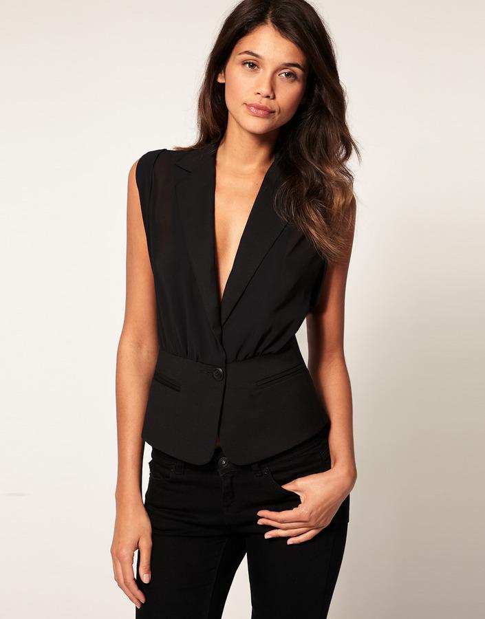 ASOS Sheer Sexy Vest