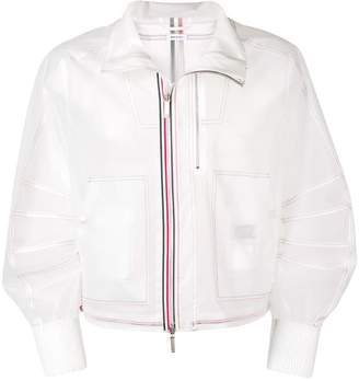 Thom Browne Clear Tech Articulated Blouson Jacket