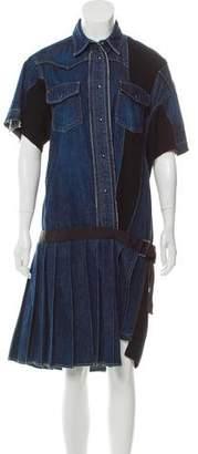 8d13db102d Sacai Denim Dress - ShopStyle