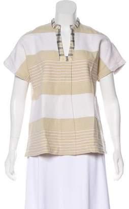 Ace&Jig Striped Short Sleeve Top