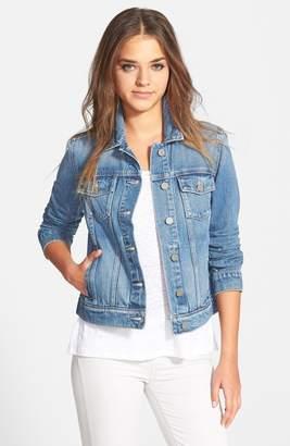 Paige Denim 'Rowan' Crop Denim Jacket