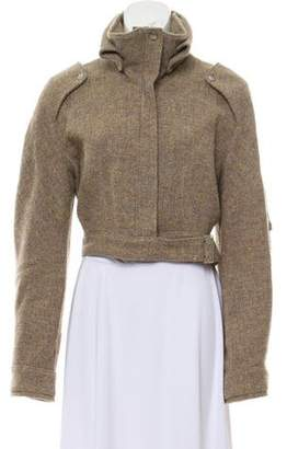 Stella McCartney Wool-Blend Cropped Jacket