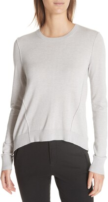 ATM Anthony Thomas Melillo Forward Seam Silk, Wool & Cashmere Sweater