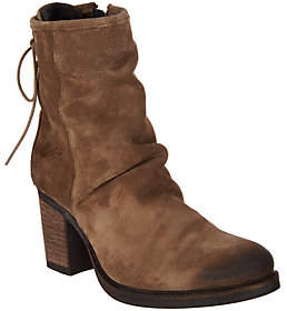 Bos. & Co. Water Resistant Suede AnkleBoots - Barlow