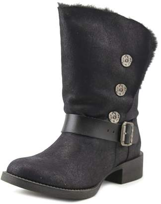 Blowfish Katti Shr Women US 10 Black Mid Calf Boot