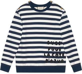 d5e1cd76a11 Gucci Blue Sweats   Hoodies For Women - ShopStyle Canada