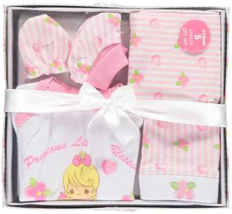 "Precious Moments Baby Girls' ""Little Blessings"" 5-Piece Layette Gift Set"