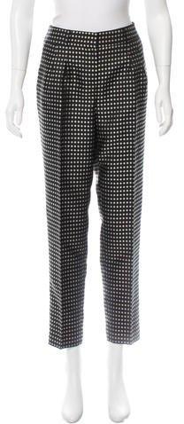 Kate Spade New York Polka Dot Print Pants