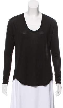 Vince Oversize Long Sleeve Top