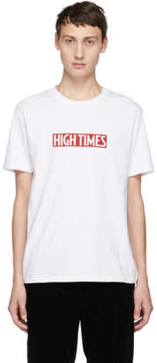 Wacko Maria White High Times Edition Logo T-Shirt