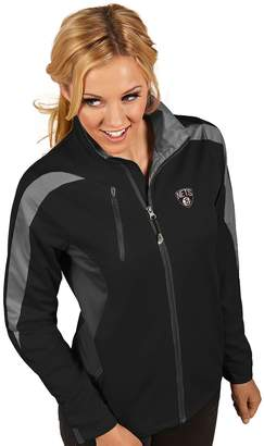 Antigua Women's Brooklyn Nets Discover Pullover