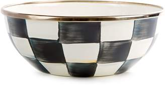 Mackenzie Childs Courtly Check Enamel Bowl