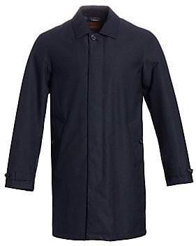 Ermenegildo Zegna Men's Microtene Rain Jacket