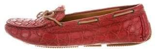 Bottega Veneta Intrecciato Driving Loafers