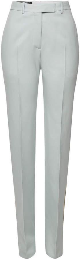 Virgin Wool Pants with Stripes
