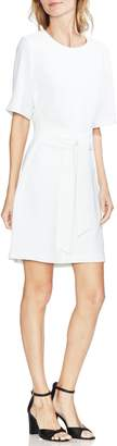 Vince Camuto Belt Parisian Crepe Dress