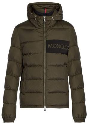 Moncler Aiton Quilted Down Jacket - Mens - Khaki