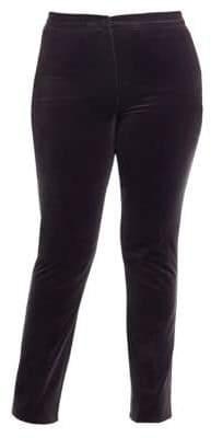 Marina Rinaldi Marina Rinaldi, Plus Size Realista Stretch Velvet Trousers