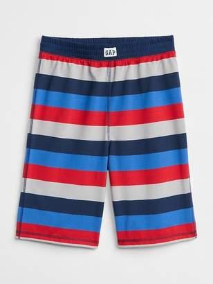 Gap Stripe Sleep Shorts