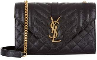 Saint Laurent Small Monogram Envelope Shoulder Bag
