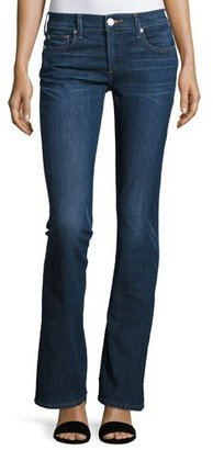 True Religion Becca Mid-Rise Boot-Cut Jeans, Worn Vintage $159 thestylecure.com