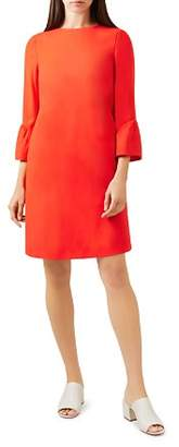 Hobbs London Flora Bell Sleeve Shift Dress
