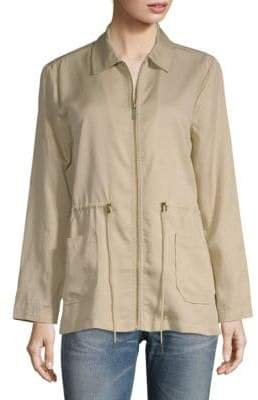 Sanctuary Drawstring Utility Jacket