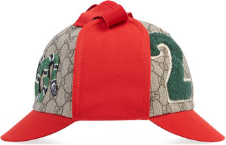 Children's GG Supreme double-brim hat $450 thestylecure.com