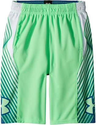 Under Armour Kids Space The Floor Novelty Shorts Boy's Shorts
