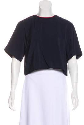 Timo Weiland Short Sleeve Crop Top w/ Tags