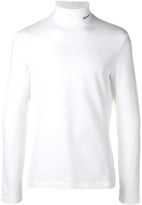 Calvin Klein roll neck sweatshirt
