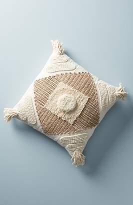 Anthropologie Textured Nayeli Square Accent Pillow