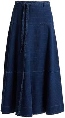 Elizabeth and James Leila A-line denim skirt
