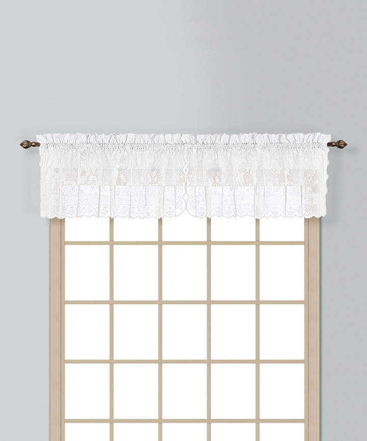 White Windsor Valance