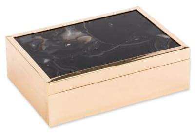 Zuo® Agate Pattern Large Box in Black