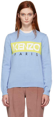 Kenzo Blue Paris Jumper Sweater