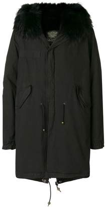 Mr & Mrs Italy trimmed hooded parka