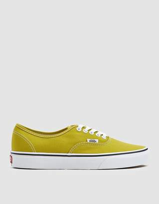 Vans Authentic in Cress Green/True White