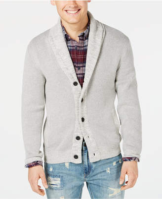 American Rag Men's Textured Cardigan