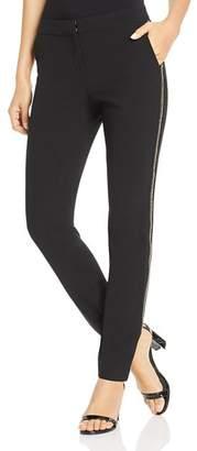 Lafayette 148 New York Manhattan Embellished Skinny Pants