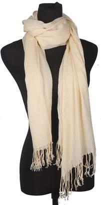 Posher TM FL6 Unisex Fashion Imitation Cashmere Solid Color Shawl Fringed Scarves
