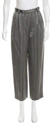The Row Striped Print Crop Pants w/ Tags