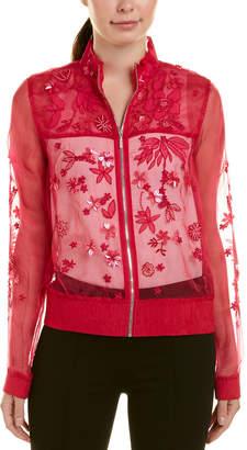 Elie Tahari Silk Jacket
