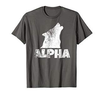 Alpha Lone Wolf T-shirt Pack Member Wildlife Howling Tee