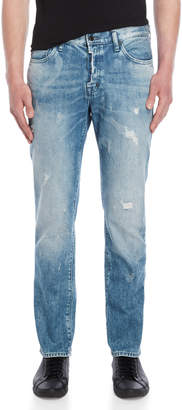 PRPS Light Wash Demon Slim Fit Jeans