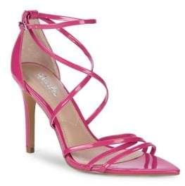 Charles by Charles David Trickster Strappy Patent Leather Stiletto Sandals