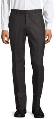 Saks Fifth Avenue Textured Wool-Blend Pants